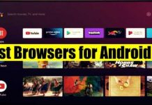 Best Browsers for Android TV