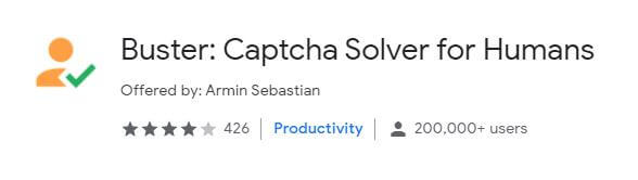 Buster - Captcha Solver for Humans