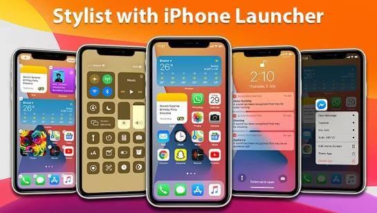 Launcher iPhone
