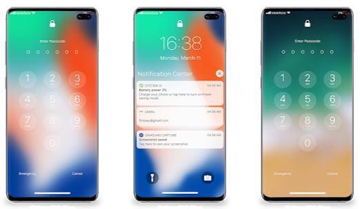 Lock Screen & Notification iOS 14