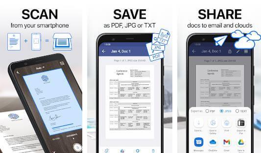iScanner-PDF Scanner App