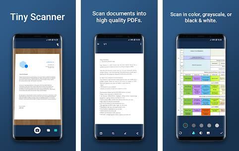 Tiny Scanner or Scanner App