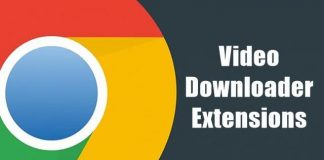 Video Downloader Chrome Extensions