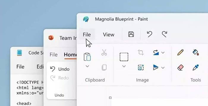 Windows 11 Notepad and Paint Gets Revamped Design