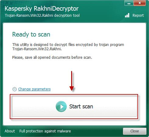 Kaspersky Rakhni Decryptor
