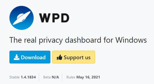 WPD (Windows Privacy Dashboard)