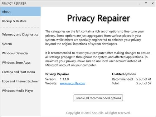 Privacy Repairer