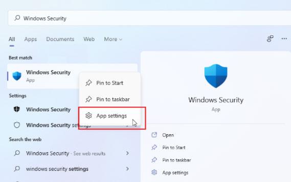 Windows Security.