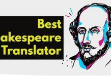 Best Shakespeare Translator Tools