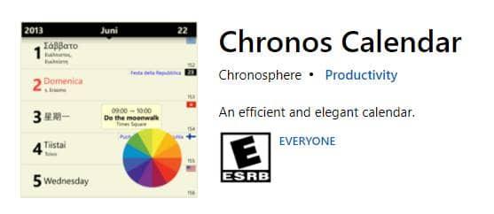 Chronos Calendar+