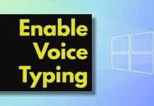 Enable and Use Voice Typing in Windows 11
