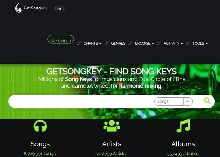 GetSongkey