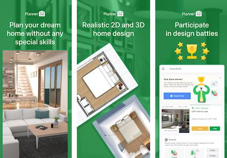 House Design & Interior room sketchup - Planner 5D