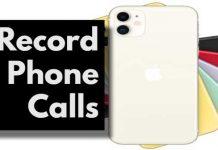 record phone calls and conversations