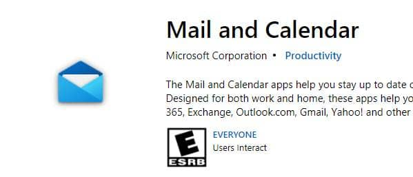 Mail and Calendar