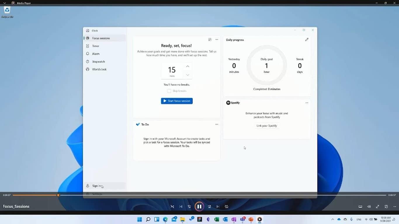 Windows 11 New Media Player