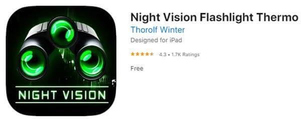 Thermo Night Vision Flashlight