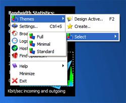 Rokario Bandwidth Monitor