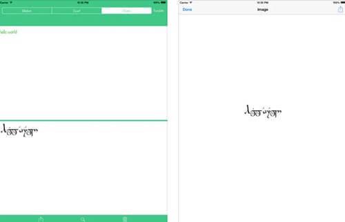 Runes-Elvish Translator