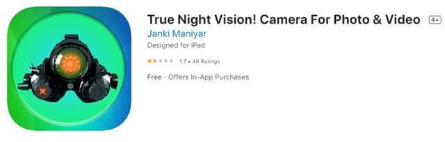 True night vision