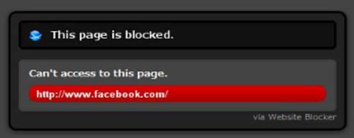 Website Blocker(Beta)
