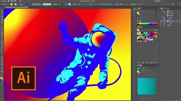 use Adobe Illustrator to open an EPS image file
