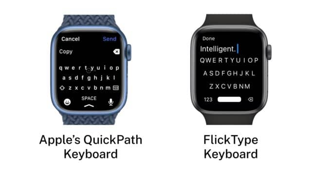 Apple Faces Lawsuit Over Copying Keyboard in Watch Series 7
