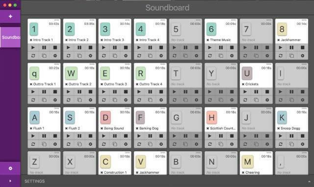 Podcast Soundboard