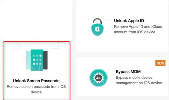 Unlock iPhone Screen Passcode