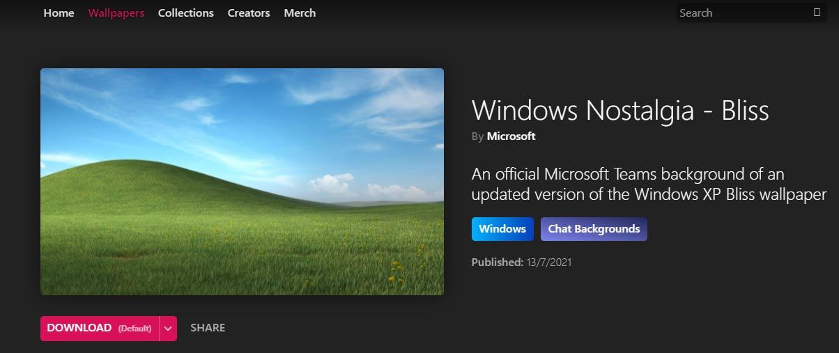 Windows Nostalgia Bliss