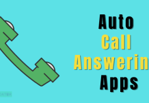 Best Auto Call Answering Apps For Android