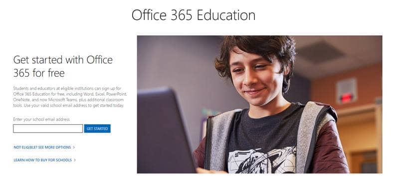 MS Office Student Account